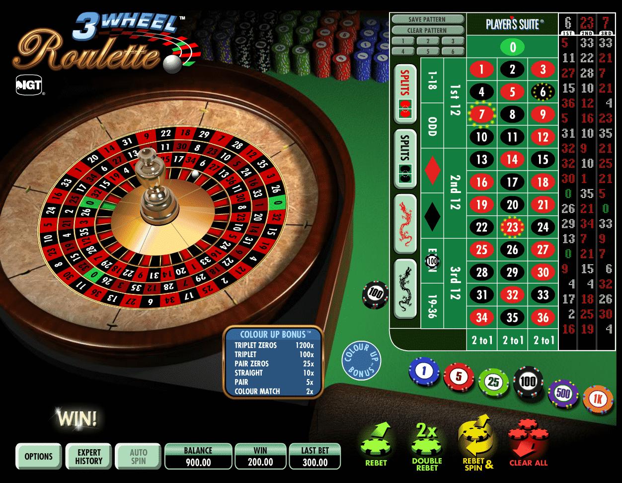 Hard Rock Casino roulette