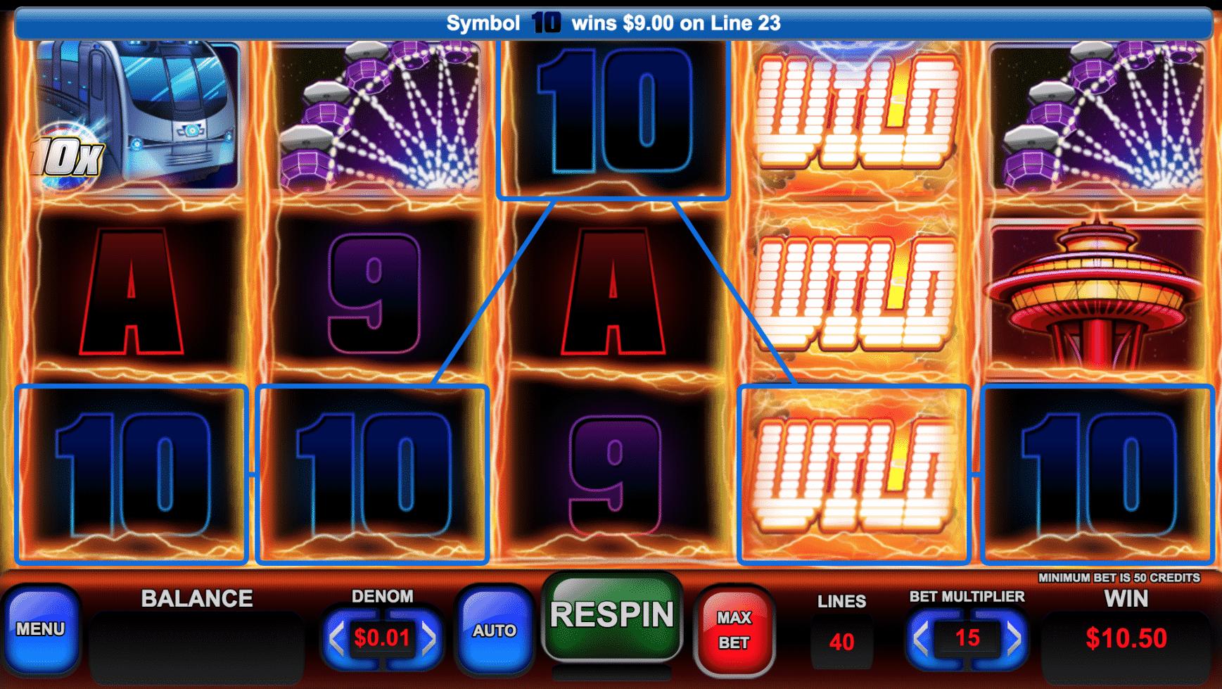 Resorts Casino slots 2