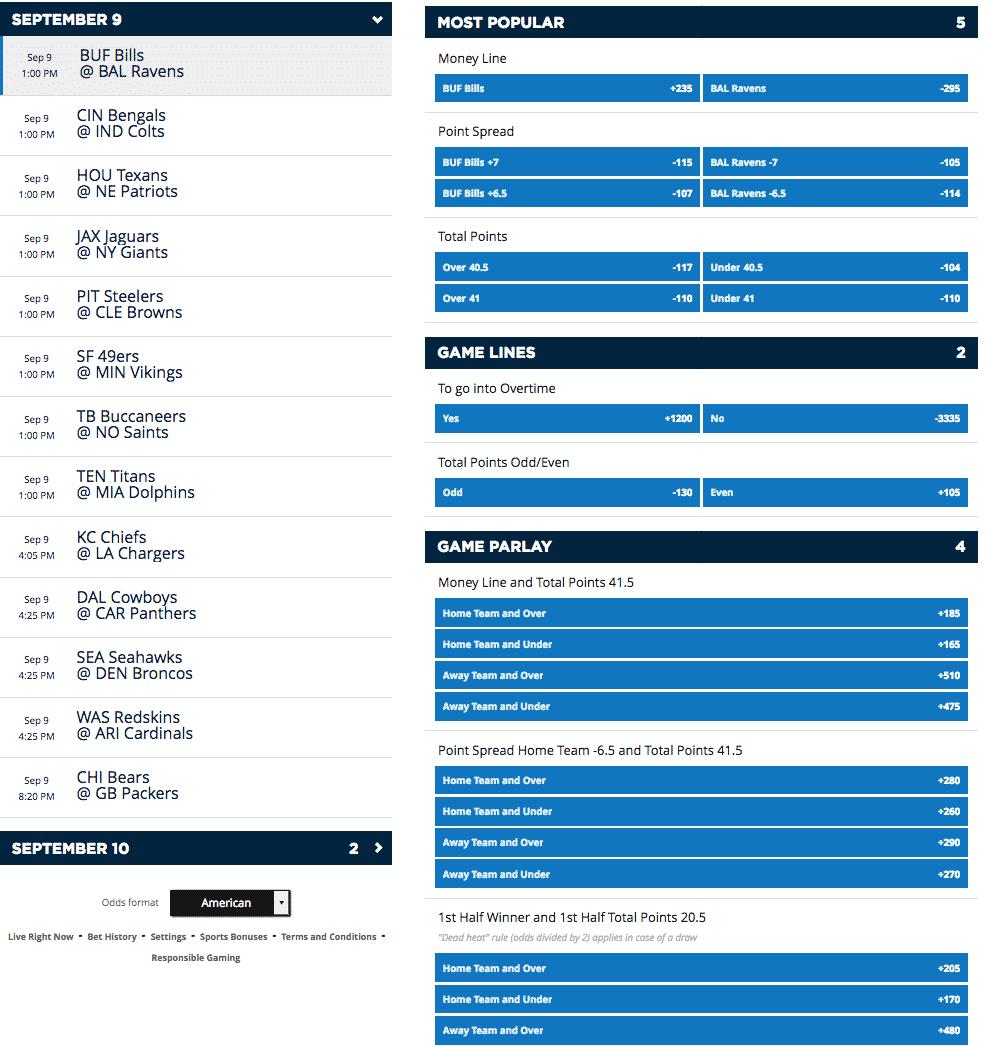 betting variety 1