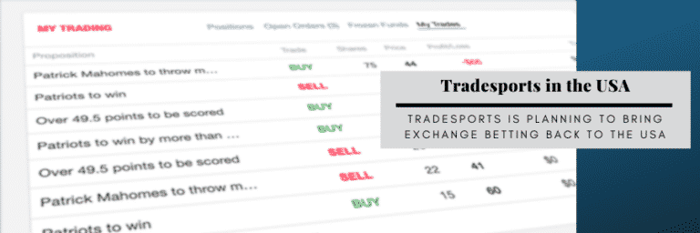 Tradesports Aims to Launch Exchange Betting Platform in the USA